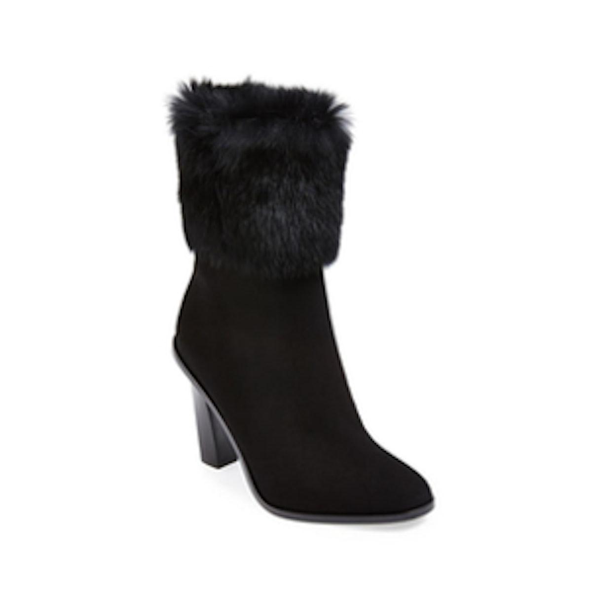 Fur Trimmed Boots