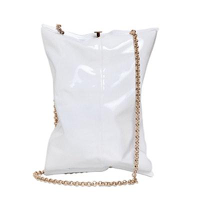 Bag Packet Enameled Brass Clutch