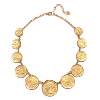 Station Coin Necklace