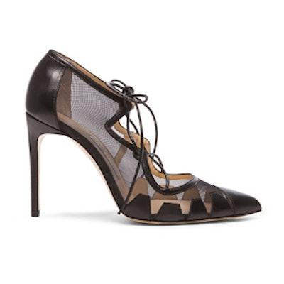 Dekota Mesh & Leather Heels