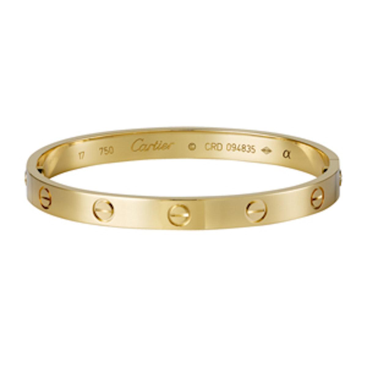 Love Bracelet in Yellow Gold