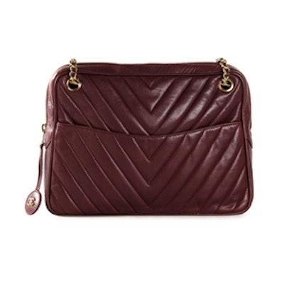 Vintage Quilted Shoulder Bag