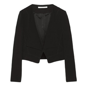 Ciara Drape-Front Blazer