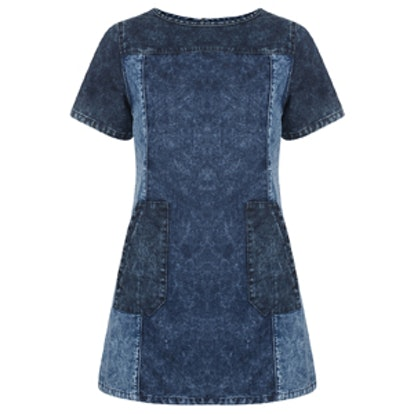 Bellfield Colour Block Denim Dress