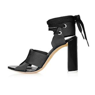 Folded Strap Sandals
