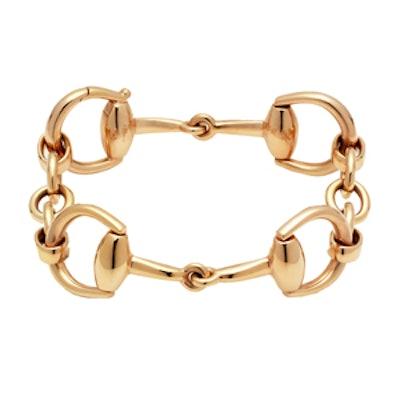 Horsebit Bracelet in Yellow Gold