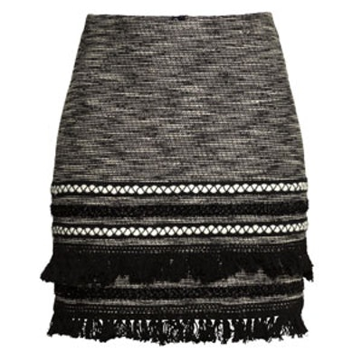 Skirt With Fringe