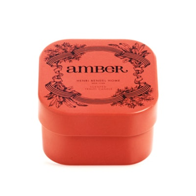 Amber Travel Candle