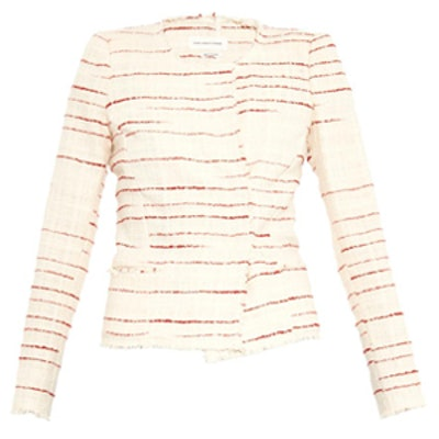 Glenn Striped Tweed Jacket