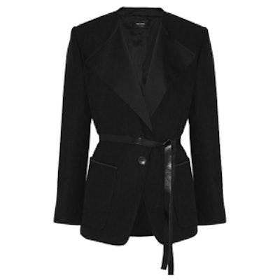 Nicky Cotton and Linen-Blend Jacket