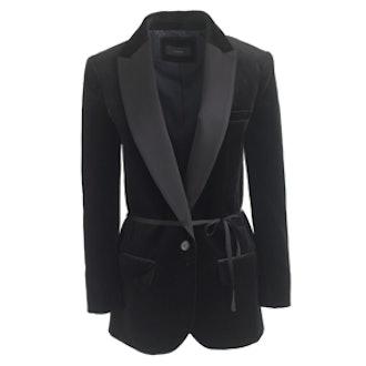 Velvet Tuxedo Blazer