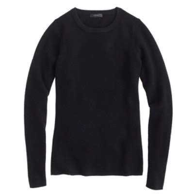 Stretch Ribbed Sweater