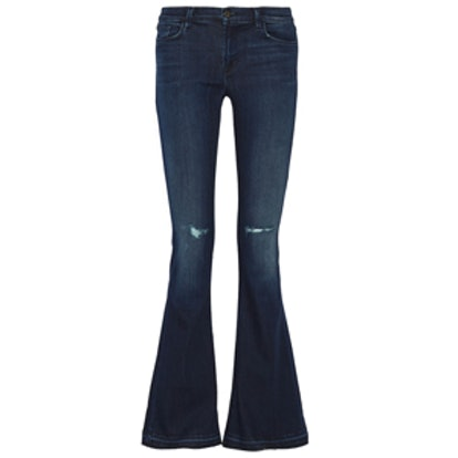 Low-Rise Martini Jeans