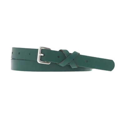 Crisscross Leather Belt