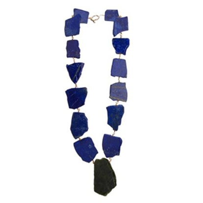 Lapis and Jade Necklace