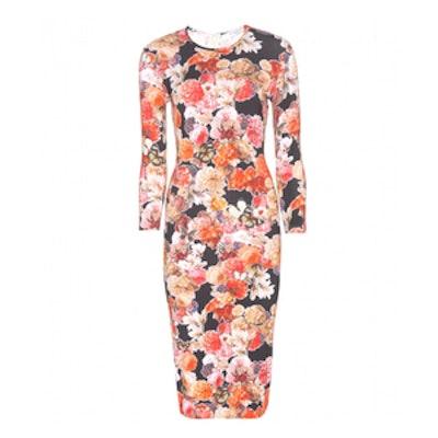 Floral-printed Midi Dress