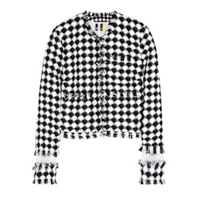 Gingham Tweed Jacket
