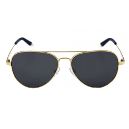Bronson Gold with Grey Lens