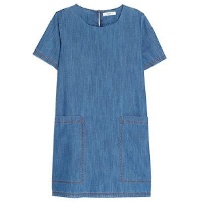Pocket Denim Dress