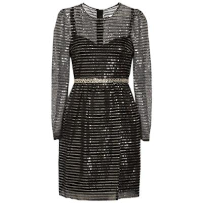 Embellished Tulle Dress