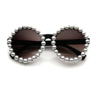Pearl Round Sunglasses