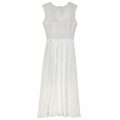 Ari Stripe Fit & Flare Dress