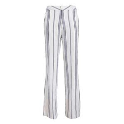 Striped Linen Blend Pants