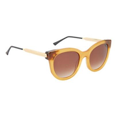 Alisha Mirrored Sunglasses