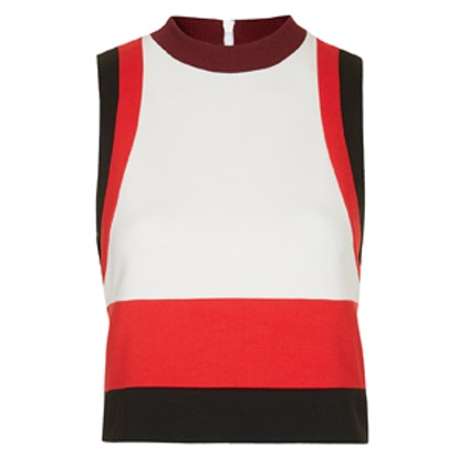 Panelled Sporty Tank