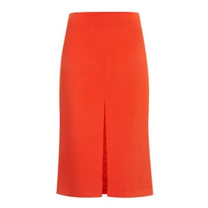 Split Front Skirt