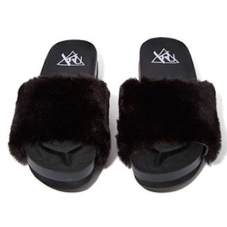Comfii Faux-Fur Slides