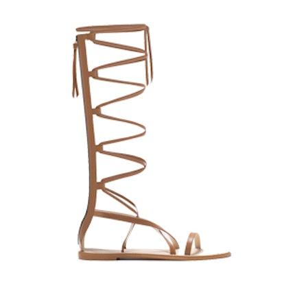 Leather Gladiator Sandals