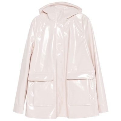 Light Pink Rain Coat