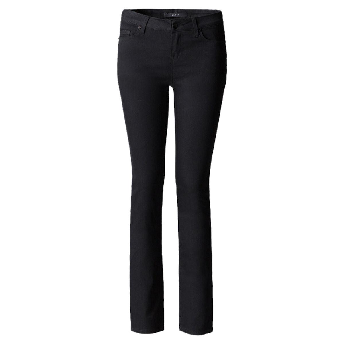 Mid Rise Cigarette Jeans