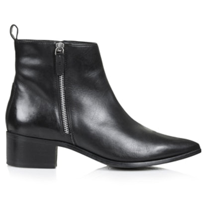 Almighty Leather Ankle Boots