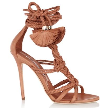 Yuna Braided Leather Sandals