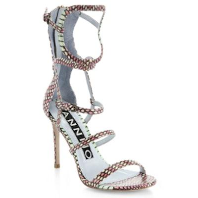 Emil Snake Sandals