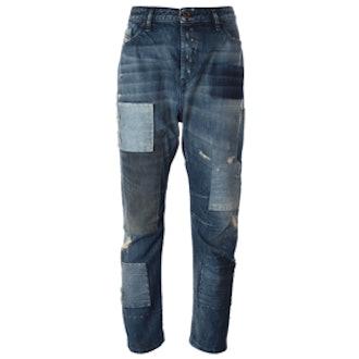 'Eazee' Low Rise Boyfriend Jeans