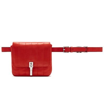 Cynnie Quilted Lambskin Belt Bag