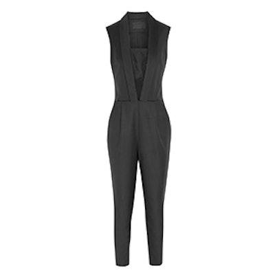 Rachel Wool and Silk Jumpsuit