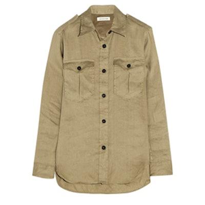 Cheyne Linen-Blend Shirt