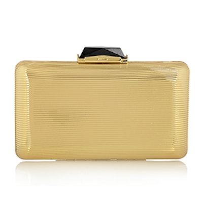 Espey Gold-Tone Box Clutch