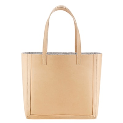 Open Tote in Natural