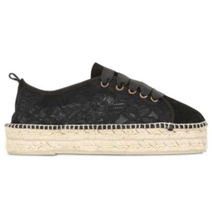 Lace Espadrille Sneakers