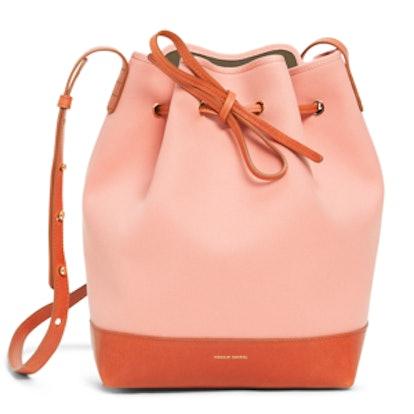 Canvas Mini Bucket Bag