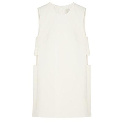 Cutout Stretch-Crepe Mini Dress
