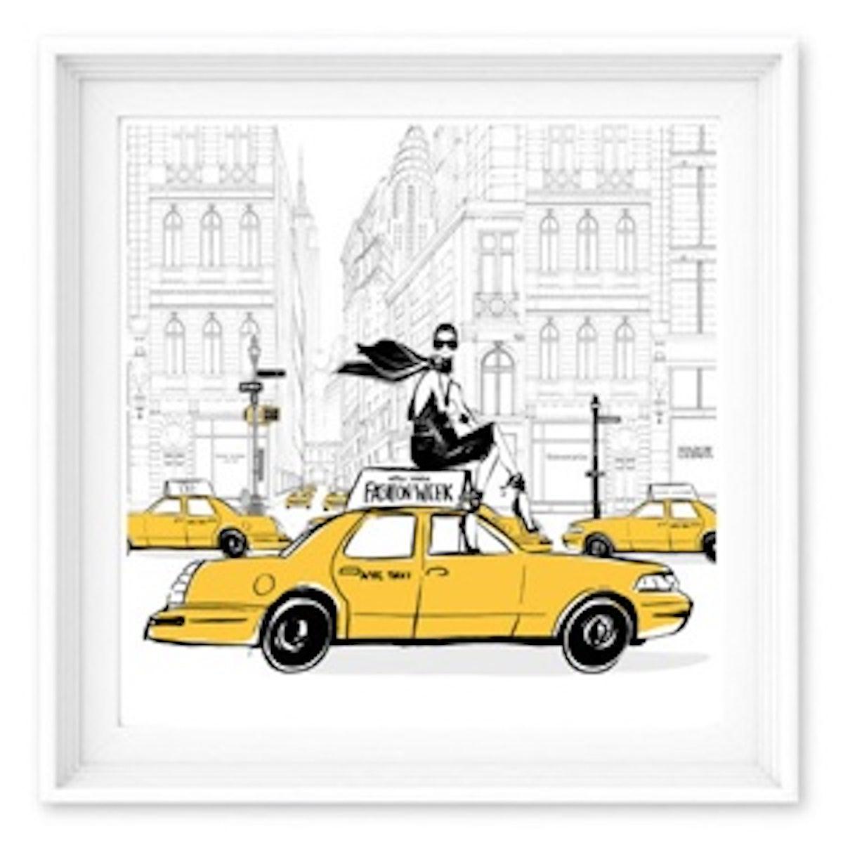 New York Fashion Week Print