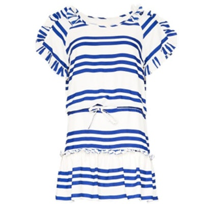 Sail On Ruffle Dress