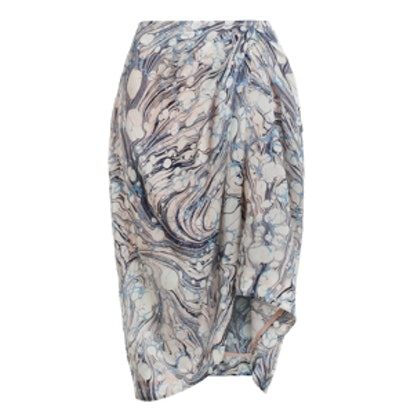 Tarot Marble Tuck Skirt