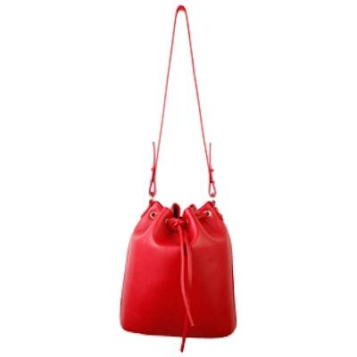 Structured Bucket Bag